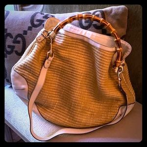 Gucci Bamboo Handle Purse